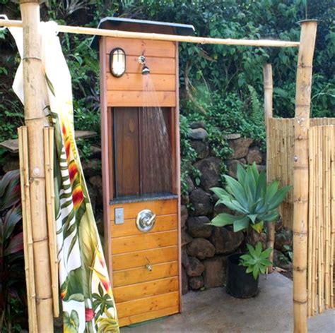 Home Dzine Garden Install An Outdoor Shower