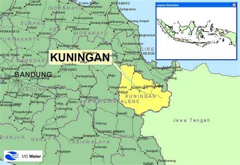cirebon kuningan map