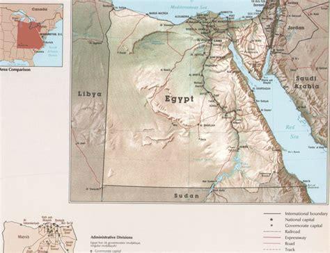 Printable Map Of Egypt Physical Maps Free Printable Maps