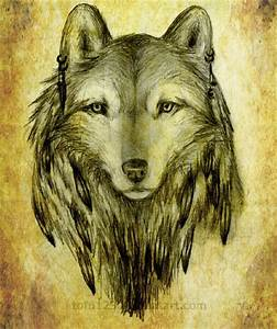 Native American Wolf by Tofu123 on DeviantArt