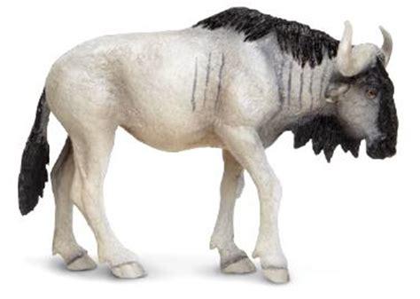 wildebeest toy miniature replica anwo animal world