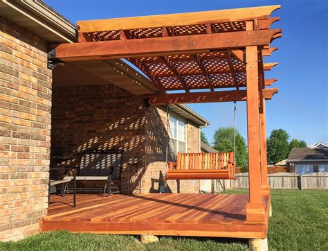 prefab arbors the pros and cons of purchasing a prefab pergola kit vs building your own forever redwood