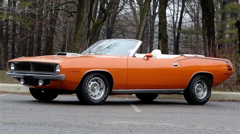 Muscle Cars Usa Plymouth Barracuda Classic Cars Widescreen
