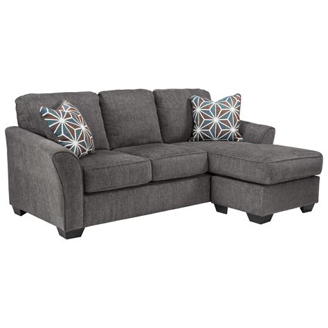 Sectional Sofa Sleeper With Chaise by Benchcraft Brise 8410268 Casual Contemporary Sofa