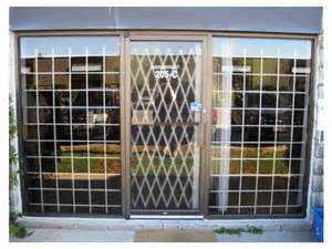 window and door security bars grilles guards gates