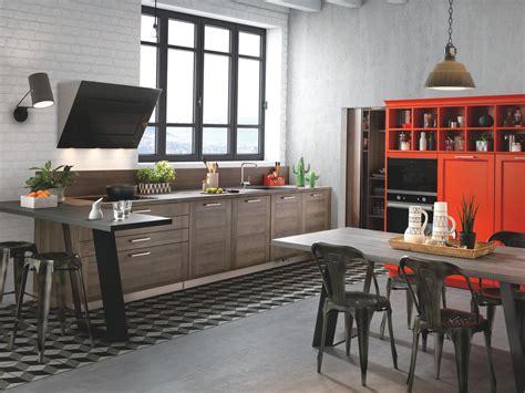 mod鑞e de cuisine ouverte cuisines 233 quip 233 es sur mesure schmidt