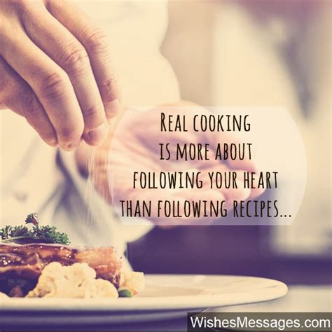 cooking quotes inspirational messages for chefs and