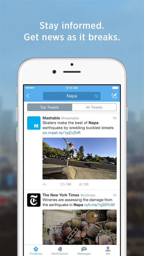Twitter App Gets Updated With Support for 3D Touch ...