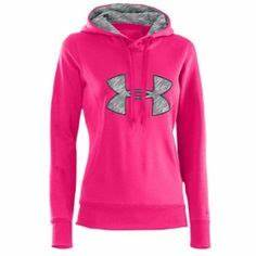 Neon pink under armour