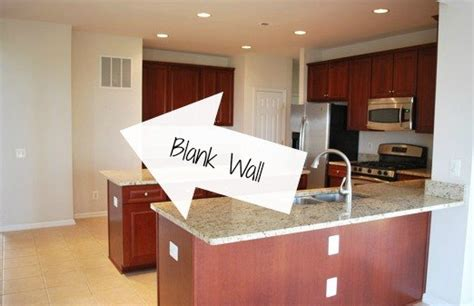 blank kitchen wall ideas diy stained open shelving for the kitchen hometalk