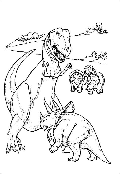 coloriage dinosaures sur coloriage animaux coloriages