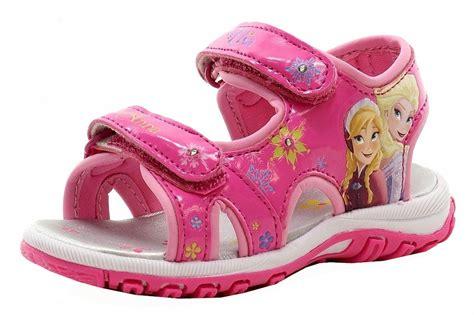 girls light up sandals disney frozen 39 s pink light up sandals shoes