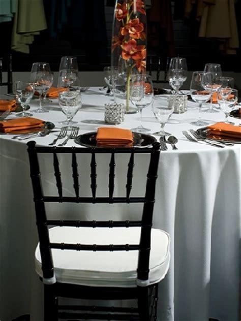 Black Chiavari ? PS Event Rentals