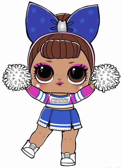 Lol Dolls Surprise Doll Cheer Sis Drawing