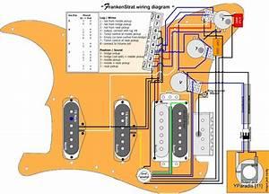 Frankenstrat Wiring Diagram