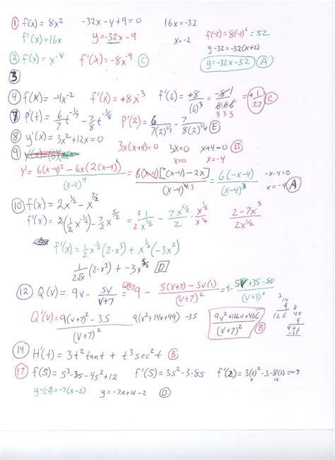 ap calculus test review