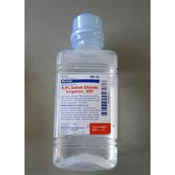 Normal Saline Irrigation Bottle