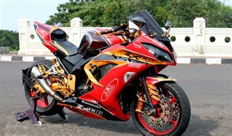 Modifikasi Kawasaki Ninja 250 2013 Tampil Beda Dan Gahar