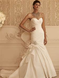 Sweetheart fit and flare casablanca bridal gown 2106 for Casablanca wedding dress