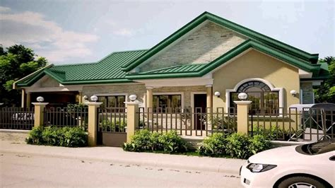 green home floor plans modern bungalow house design in the philippines