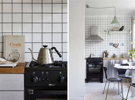 deco cuisine gris et noir le joint noir ou gris pour le carrelage joli place