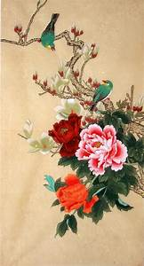 Chinese Painting: Peony - Chinese Painting CNAG235096 ...
