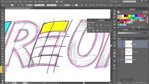 346 Hand Drawing Custom Made Letters In Illustrator