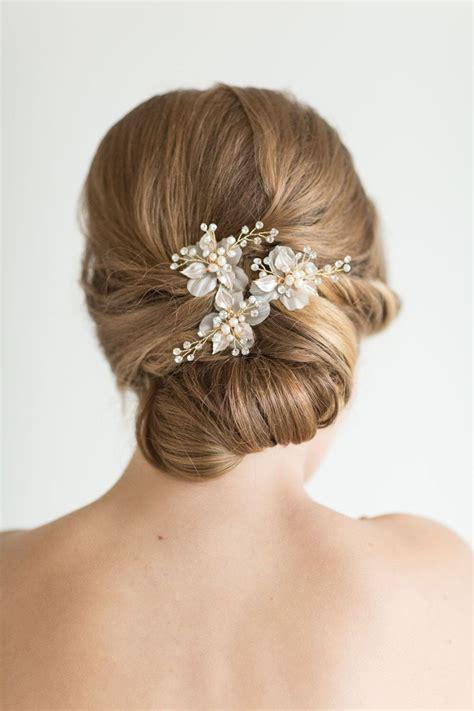 Wedding Hair Pin Bridal Hair Pin Pearl Hair Pin Flower