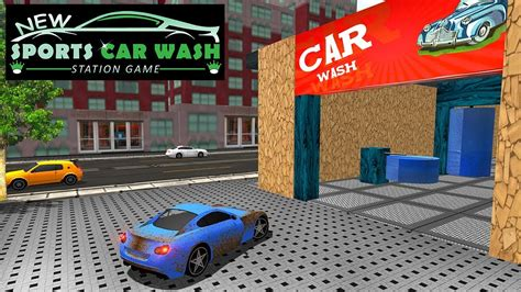 New Sports Car Wash Station Game Youtube