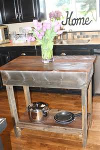 reclaimed wood kitchen islands rustic kitchen island garden woodworks