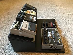 Double Tier Pedalboard
