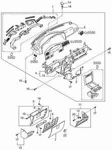 1999 Kia Sportage Dashboard Related Parts