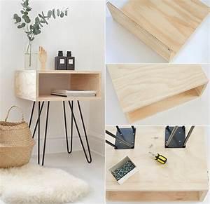 Hairpin Tischbeine Ikea : do it yourself deko in schwarz wei und holz freshouse ~ Eleganceandgraceweddings.com Haus und Dekorationen