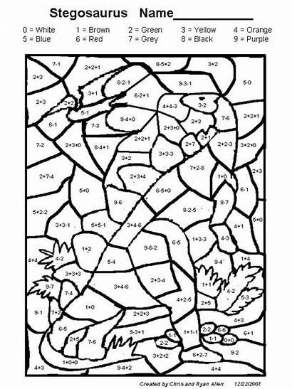 Coloring Worksheets Grade Math 2nd Activity Printout