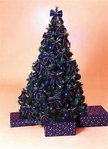 25 blue color theme tree decorations ideas magment