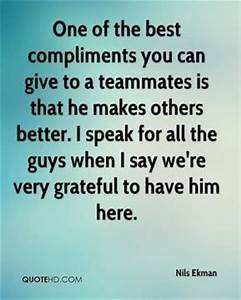 Complimenting Quotes For Men. QuotesGram