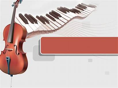 Piano Cello Powerpoint Ppt Template Musica Templates