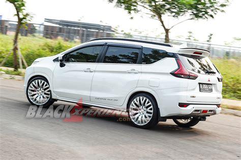 Modifikasi Mitsubishi Xpander by Modifikasi Mitsubishi Xpander Til Dengan Velg