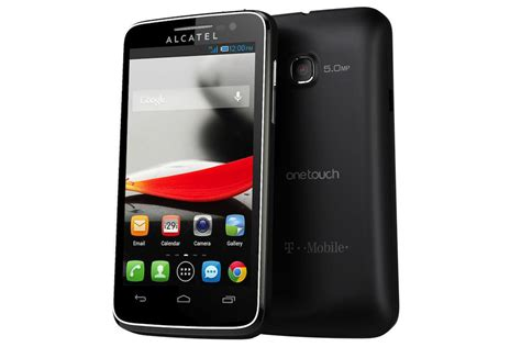 team mobile phones alcatel one touch evolve 3g android smart phone t mobile