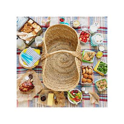 Picnic Perfect Foods Piquenique Basket Four Ways