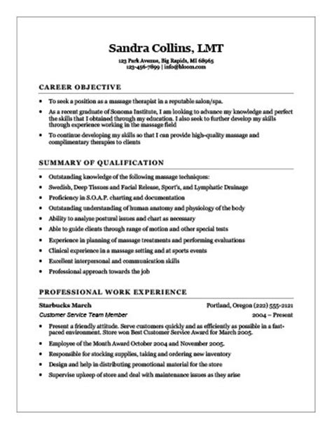 18 free therapist resume templates
