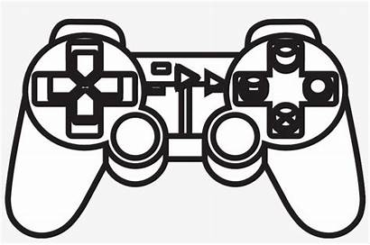 Controller Xbox Drawing Playstation Ps3 Drawn Clipartmag