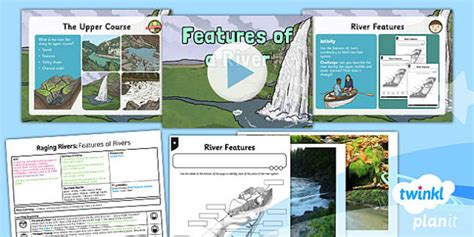 ks features   river lesson plan  year  geography