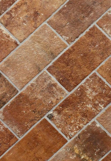 brick floor tile brick sunset 5 quot x 10 quot porcelain floor tile