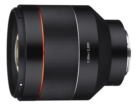 samyang sony fe 85mm lenses prime mount sharpness bokeh af lens ephotozine lineup