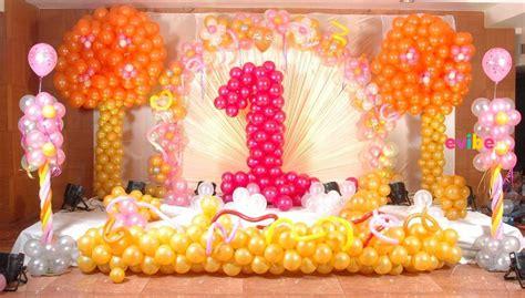 stunning  birthday theme decorations   baby