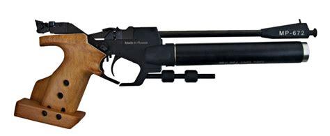 Pressluft- Matchpistole Von Baikal Modell Mp-672 Im