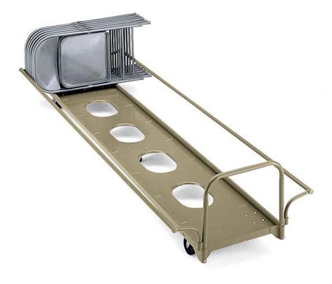 ki horizontal stage folding chair storage caddy