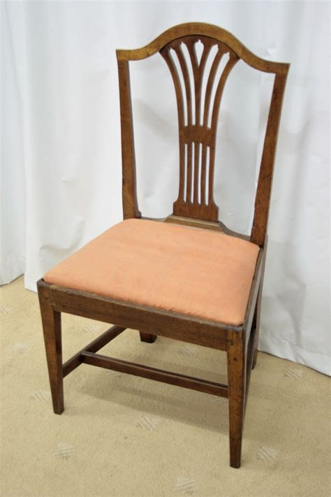six georgian mahogany dining chairs for sale antiques