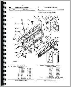 Farmall Tractor Parts Manual